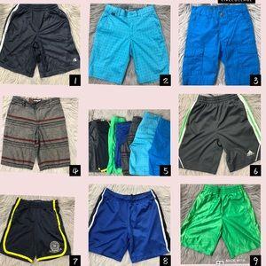 Bundle of 8 Boy's shorts